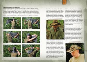 Bushcraft könyv belseje