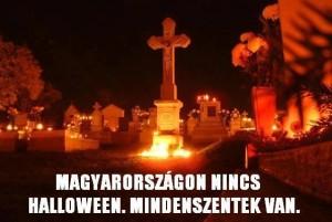 Halloween vs. Mindenszentek