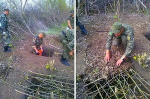 Ukrán katonák csapdákat állítanak a szakadárok számára