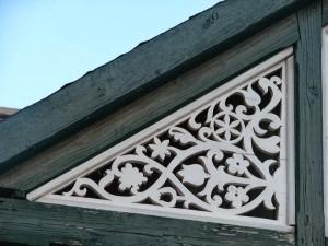 Lakóház oromdíszítés - részlet - Kalotaszentkirály-Zentelke - Kalotaszeg - Erdély Kádasi Laura képe