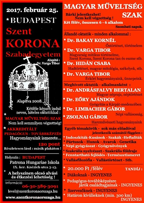 2017.02.25.Magyar Műveltség Szak- plakát 03