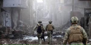 Török katonák az utcákon...