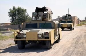 Az iraki hadsereg hétvégén jelentette be az offenzívát Forrás: MTI/EPA/Navrasz Amer