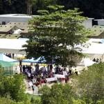 A naurui migránstábor