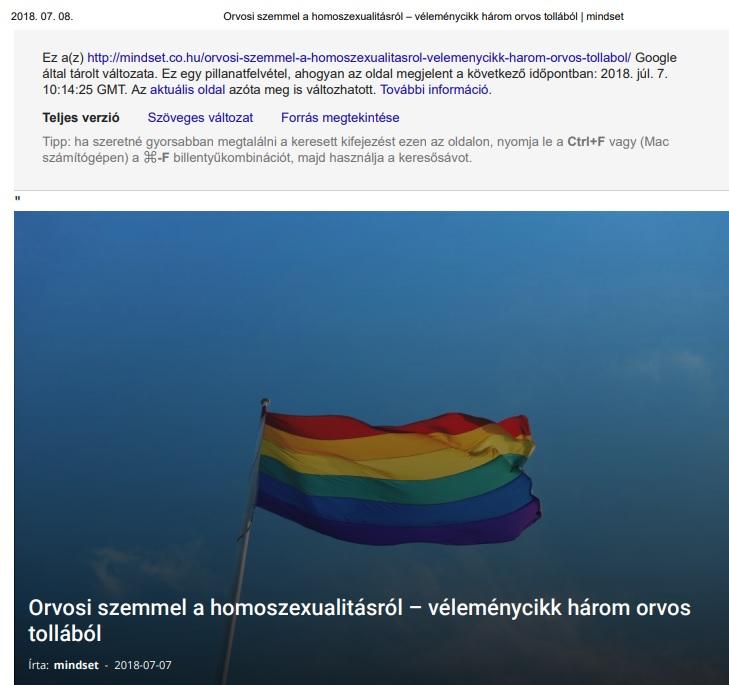 gendertudomány tanulmány cenzúra